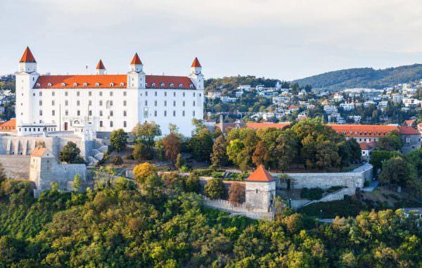 Die altehrwürdige Pressburg in Bratislava