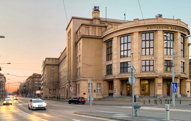 Comenius Universität in Bratislava