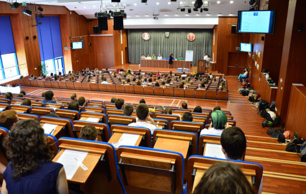 Vorlesungssaal der Jessenius Universität Martin